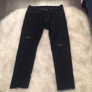 H&M men's skinny distressed jeans